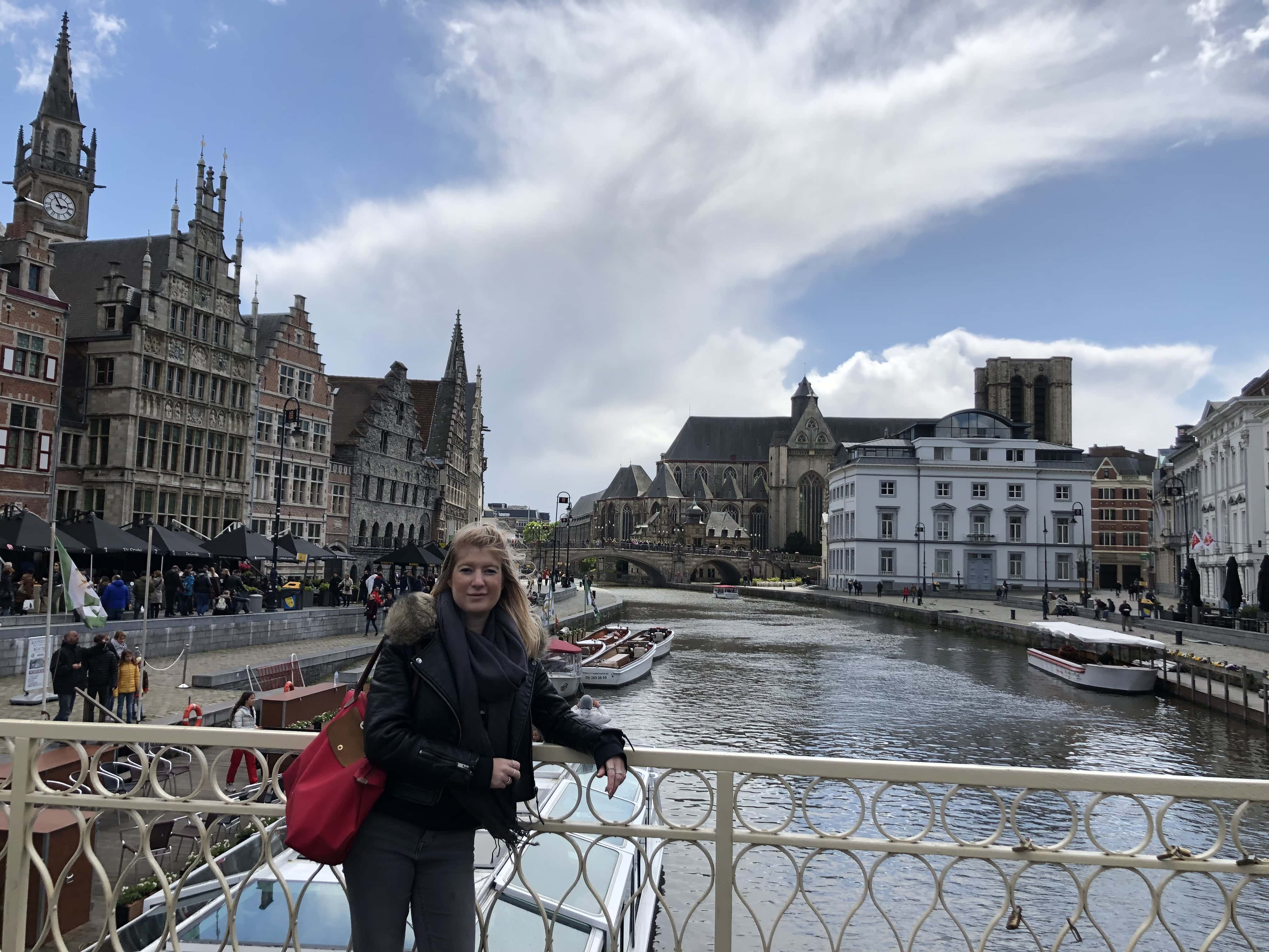 We went to Ghent